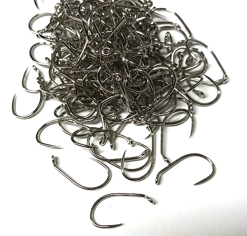 Contact Barbless Hooks (Silver) - Blob x25