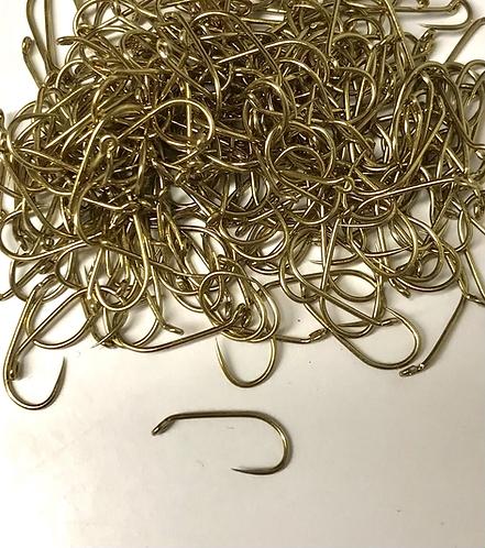 Contact Bronze Nymph Barbless Hook (x100)