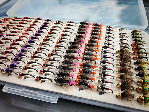 Filled Fly Boxes to order