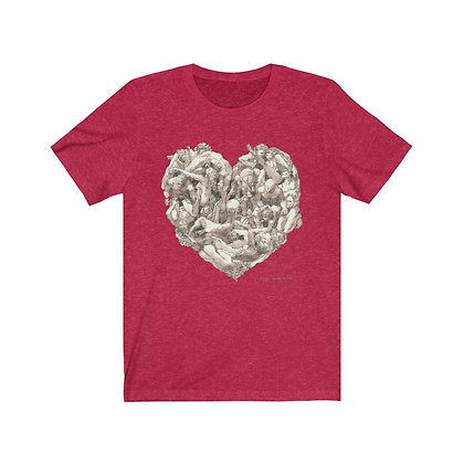 "James Wines ""Universal Valentine""  big-hearted Unisex Tee"