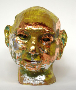 Metallic glazes on John Mason