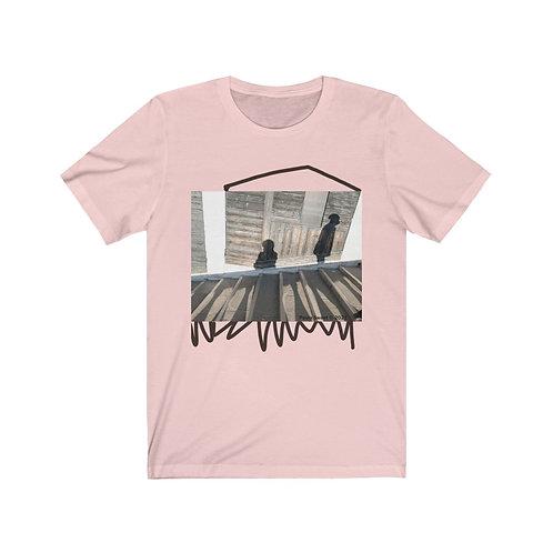 Venetian Shadows on Rialto Bridge unisex t-shirt