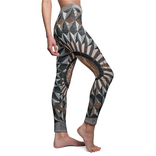 Venetian Marble Tile Leggings