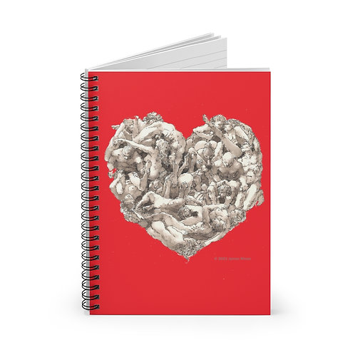 "James Wines ""Universal Valentine""  notebook"