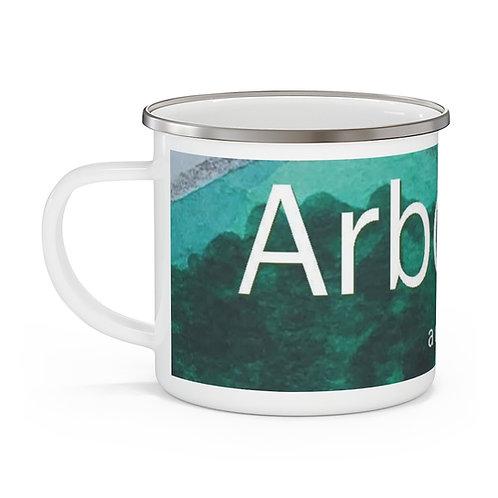 Arborea enamel campfire mug