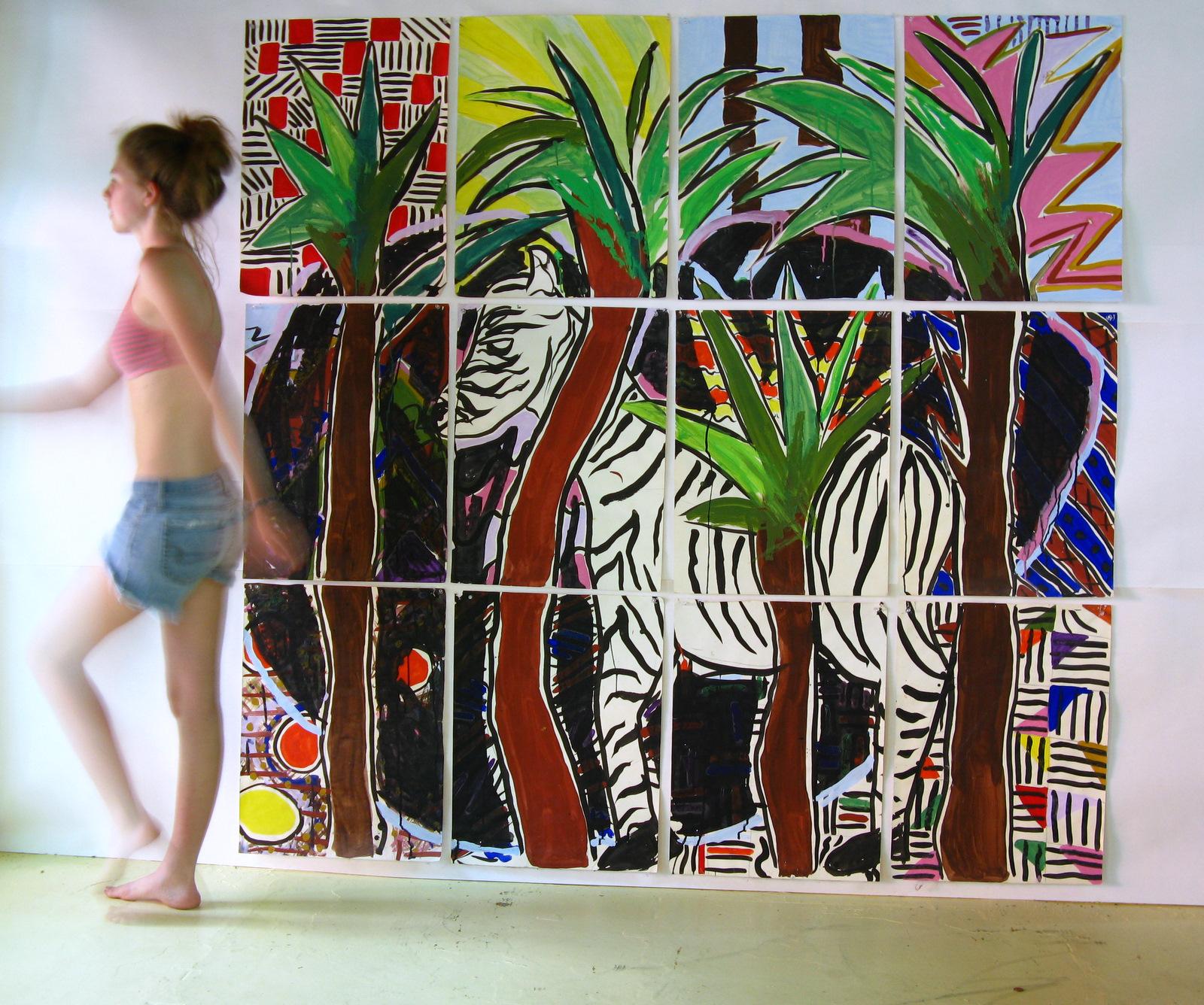 Zebra.   2006