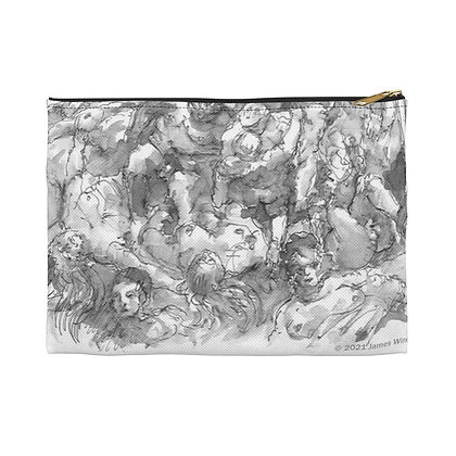 """James Wines """"Marquis de Sade Birthday Party"""" accessory pouch"""