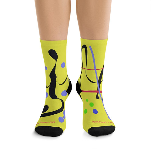 Paula Proverbs Abstract socks