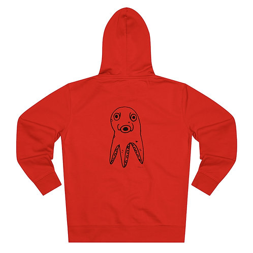 Scuffed Octopus....Zip Hoodie