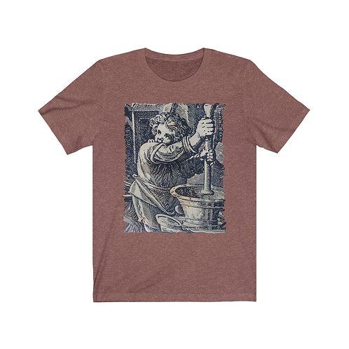 Venetian Medieval Etching  unisex t-shirt