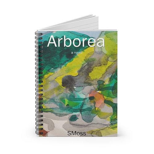 Arborea spiral notebook