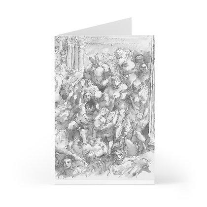 "James Wines ""Marquis de Sade Birthday Party"" greeting cards"