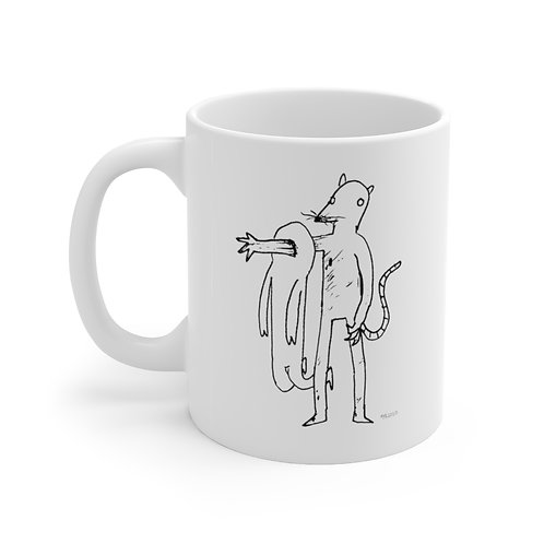 Ratman by Marco Koren  Ceramic Mug 11oz