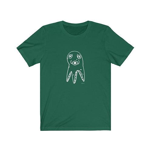 """Scoffed Octopus""....  Unisex Short Sleeve Tee"