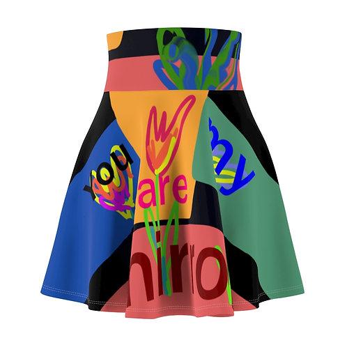 Paula's Proverbs You are My Infinite Mirror Skirt