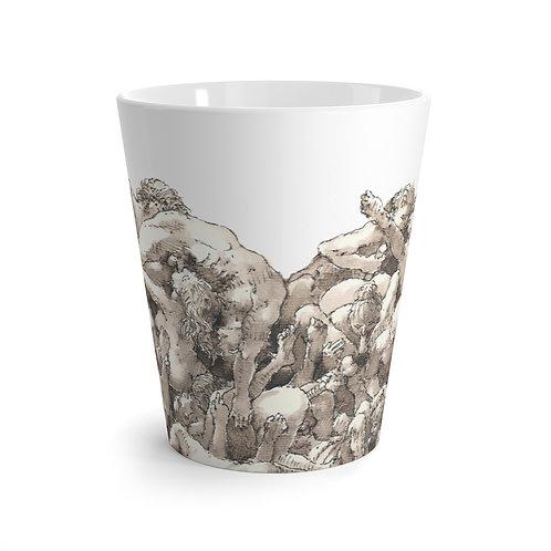 "James Wines ""Universal Valentine"" latte mug"