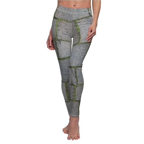 Venetian Stones with Grass Leggings
