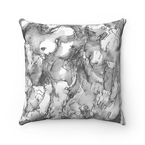 "James Wines ""Marquis de Sade Birthday Party""  Pillow"