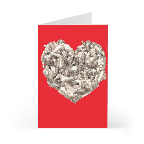 "James Wines ""Universal Valentine"" greeting cards"