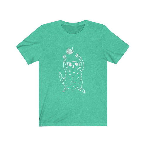 """Cat""....  Unisex Short Sleeve Tee"