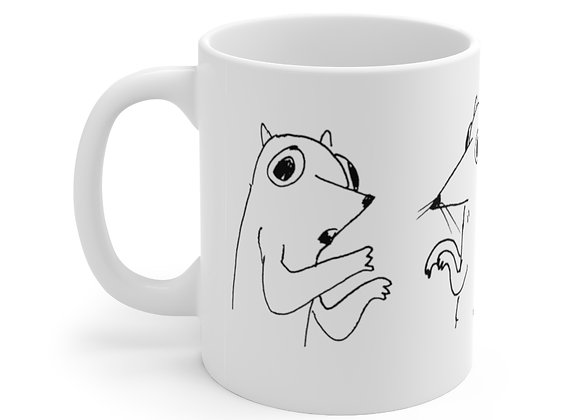 Rat Convention by Marco Koren Ceramic Mug 11oz
