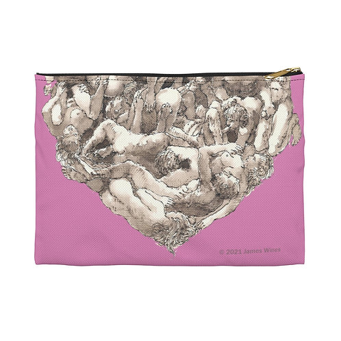 """James Wines """"Universal Valentine"""" accessory pouch"""