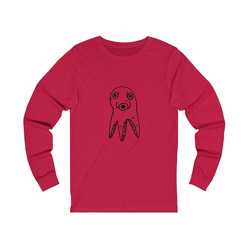 Scoffed Octopus by Marco Koren Unisex Tee