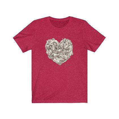 """James Wines """"Universal Valentine"""" Unisex Tee"""