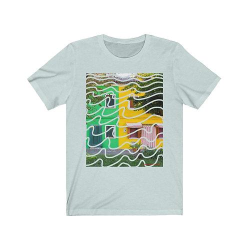Venetian Burano Scene unisex t-shirt
