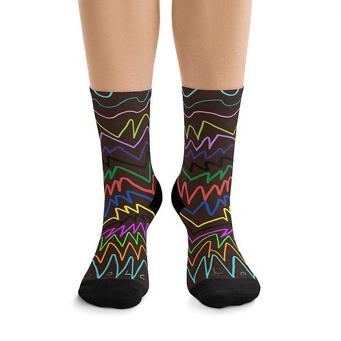 Paula Proverbs Zig Zag socks