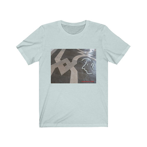 Face with in the Marble unisex t-shirt
