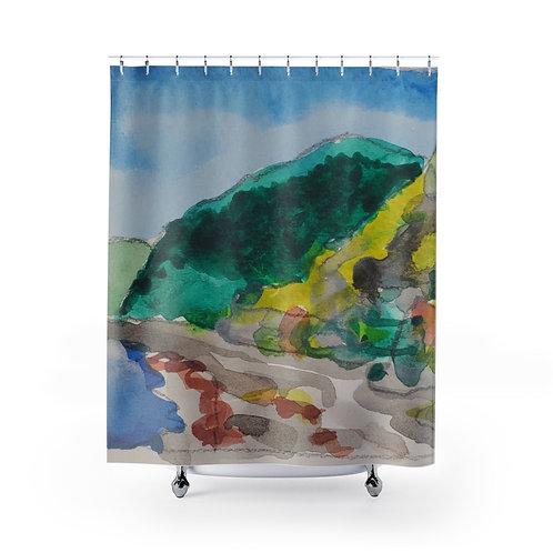 Arborea Resort Shower Curtain