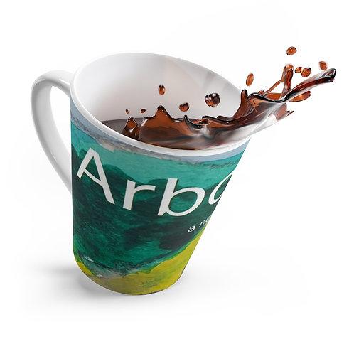 Arborea latte mug