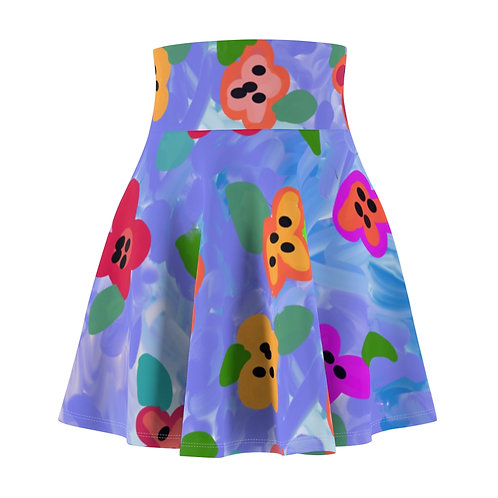 Paula's Proverbs French Flowers Skirt