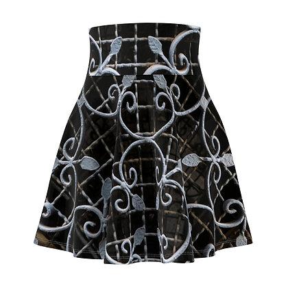 Decorative Venetian Ironwork skater skirt