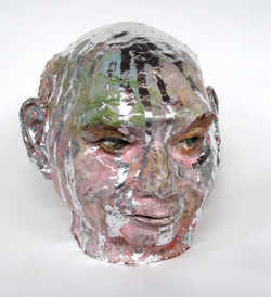 metallic glazes on John Mason cast