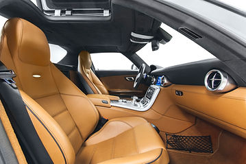 a beautifully cleaned interior of a car