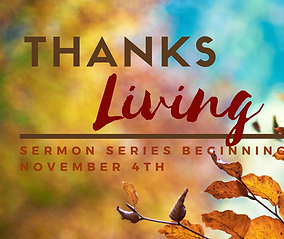 Pastor Andy Plunk - Thanksliving Sermon