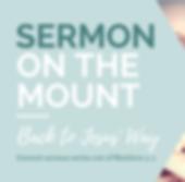 Sermon Series - Sermon on the Mount- Bac