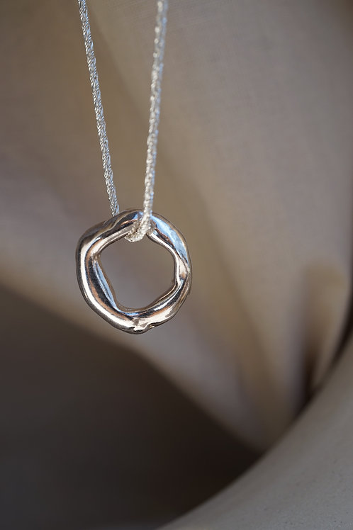 branch necklace silver