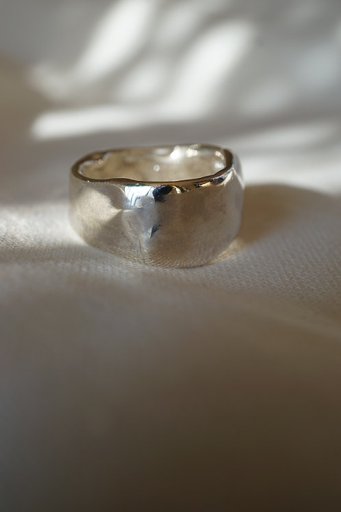 wide ring silver