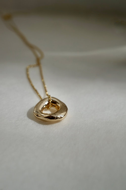 baby branch necklace gold