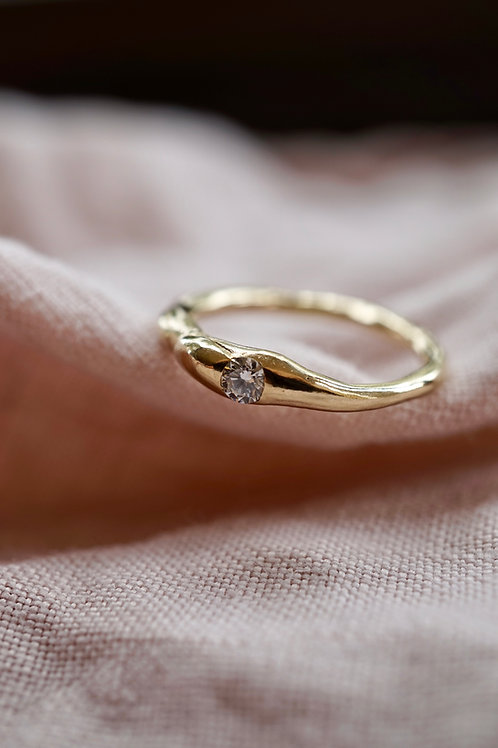 the diamond in the bubble ring
