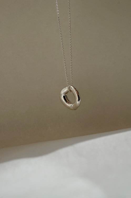 baby branch necklace silver