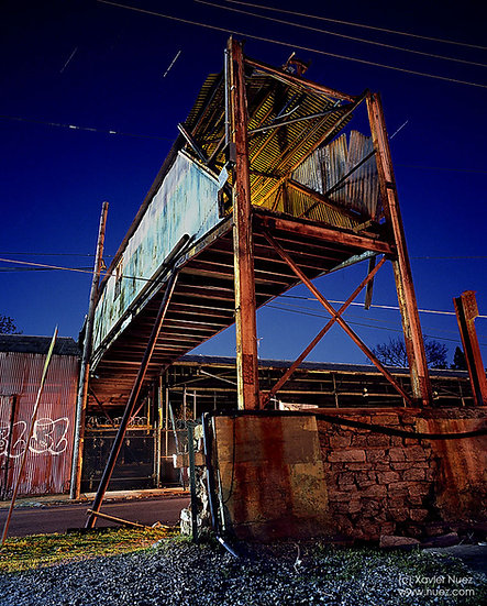 Alleys & Ruins no. 132, Cornucopia (2010, Atlanta, GA, 11pm)