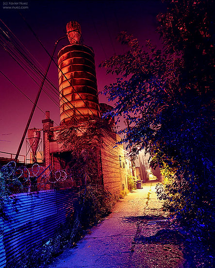 Alleys & Ruins no. 94, Hallmark (2006, Chicago, IL, 1am)
