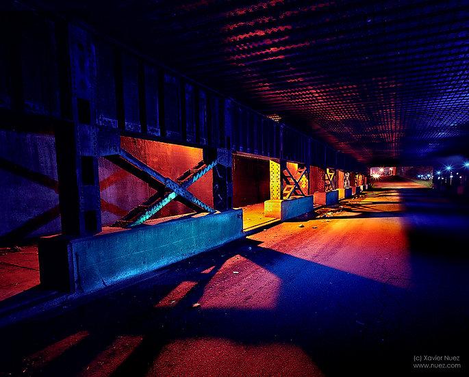Alleys & Ruins no. 79, Tunnel (2005, Detroit, MI, 2:15am)