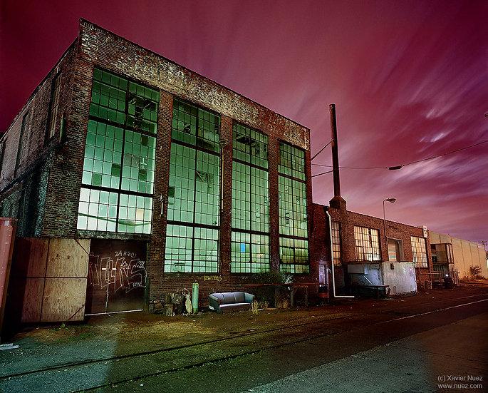 Alleys & Ruins no. 105, Time is tickin (2007, Seattle, WA, 12:15am)
