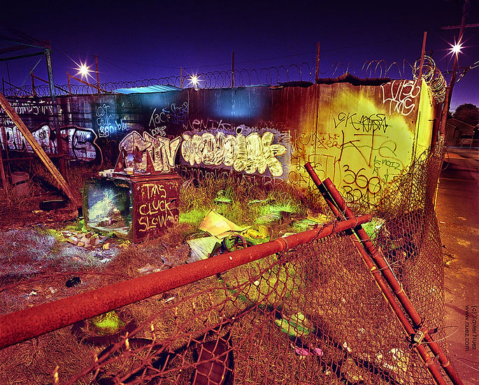 Alleys & Ruins no. 103, Angel Luis (2008, Compton, CA, 12:30am)