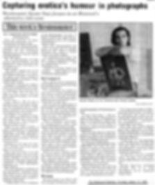 Westmount Examiner press clipping